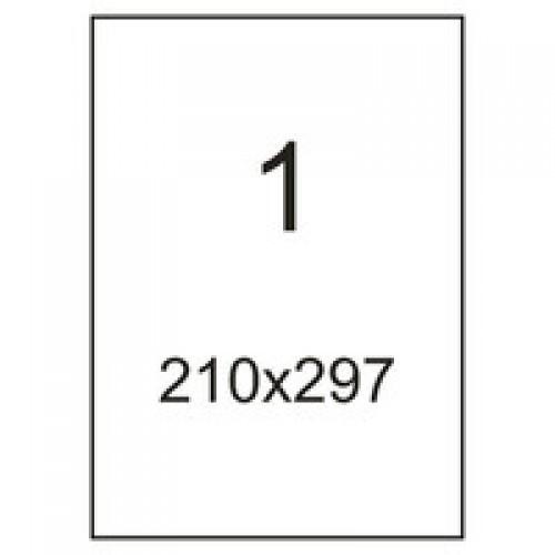 Cамоклеющаяся бумага А4 в листах (100 листов) 1 шт. (210x297мм)